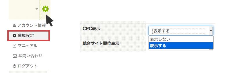 CPCを表示
