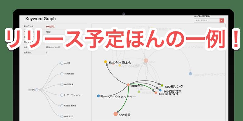 5月アップデート予告/ついにキーワードマップ対応へ!