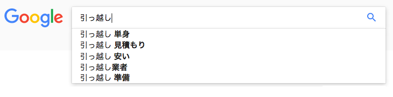 Googleサジェストをマップ化